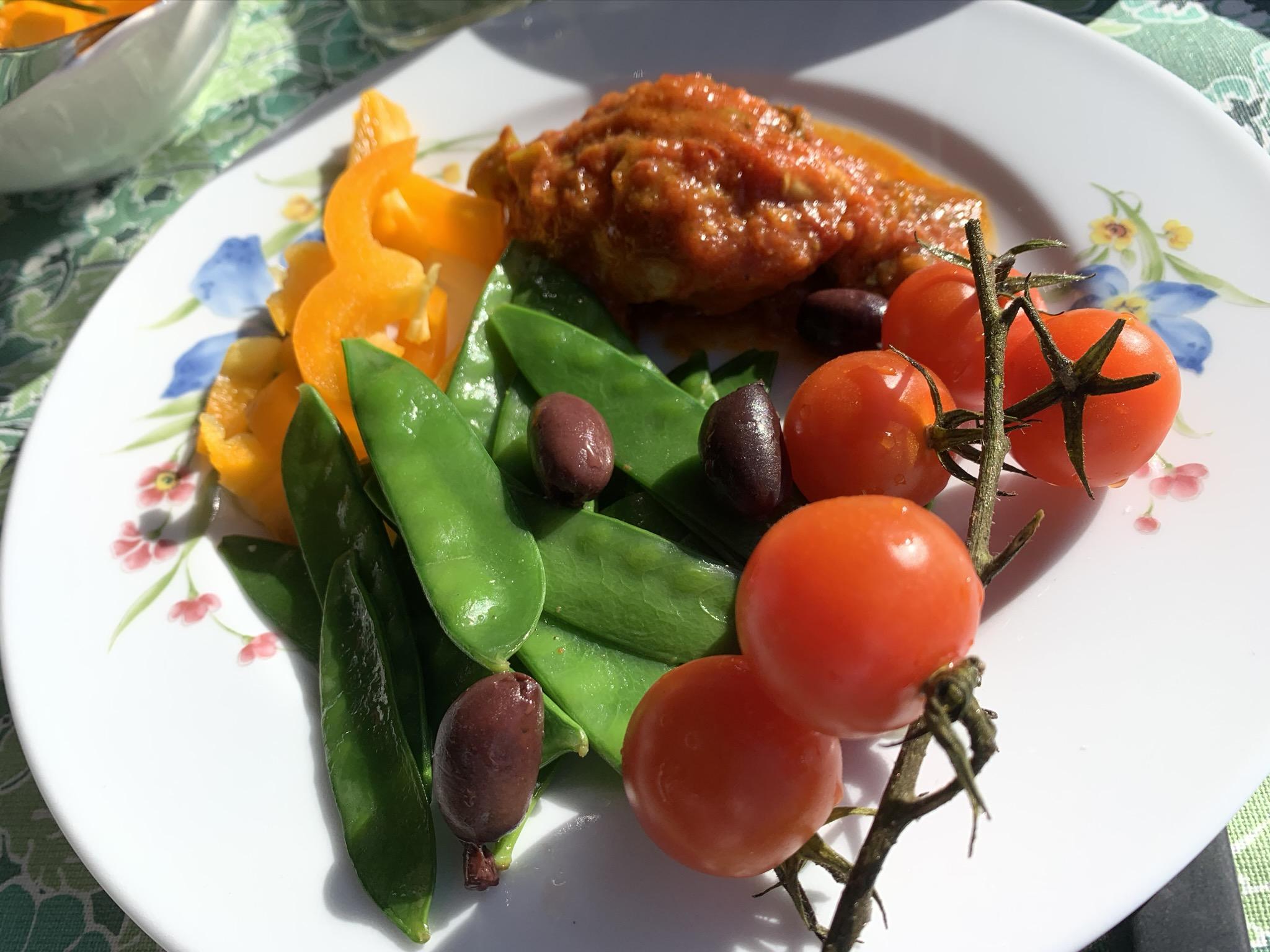 Kyckling i tomatsås