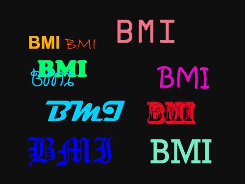 BMI och midja